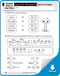 Free Math Worksheets | Math Worksheets for Kindergarten to Grade 3 ...