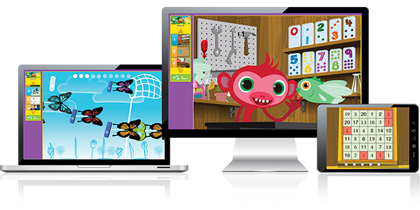 Mathseeds program makes learning possible anywhere by being compatible on multiple devices